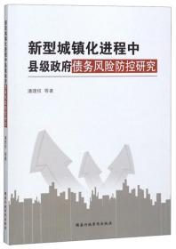 新型城镇化进程中县级政府债务风险防控研究
