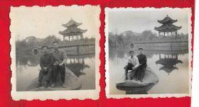 1964年【江苏老照片一以图为准、】二张。品如图。品如图。