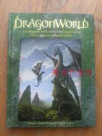 龙世界 设定 Dragonworld: 120 Dragons with Advice and Inspiration from 38 International Artists