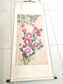 张万山国画牡丹