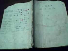 中国象棋弃子攻法、上(手抄本)