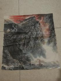 觉良山水画72