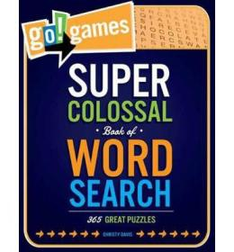 Go!Games Super Colossal Book of Word Search  365