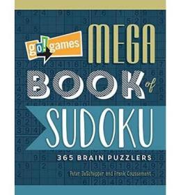 Go!Games Mega Book of Sudoku  365 Brain Puzzlers