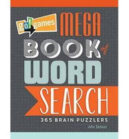 Go!Games Mega Book of Word Search  365 Brain Puz