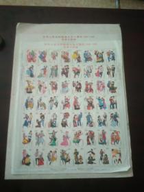 邮票:中华人民共和国成立五十周年 1949-1999 民族大团结(56个民族56个邮票)