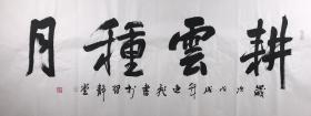 【保真】实力书法家唐逸飞作品:耕云种月