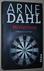 德语原版刑事侦探小说 Misterioso Taschenbuch 2003 von Arne Dahl  (Autor), Maike Dörries (Übersetzer)