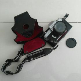 SeaguLL照相机一套~相机+镜头+闪光器+三角架~共四件套