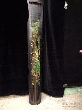 古琴,尺寸123x20x9.8厘米
