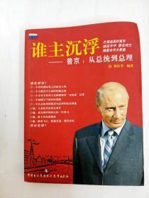 DB309184 谁主沉浮--普京:从总统到总理【一版一印】【书边略有斑渍】