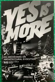 现货全新  现货 Yes is More 漫画建筑进化论 英文版 BIG建筑事务所