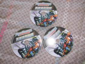 美版变形金刚3张 光盘