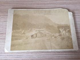清代日本《開礦儀式活動?》照片一枚