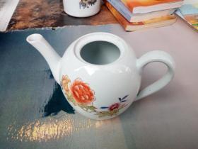 景德镇花卉老茶壶