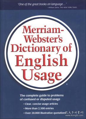 当天发货,咨询秒回复:韦氏英语用法指南 Merriam-Webster's Dictionary of English Usage 英文原版 英英词典 英文版考试工具书 精装如图片不符的请以标题和isbn为准