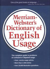 Merriam-Websters Dictionary of English Usage