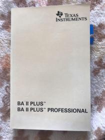 Texas Instruments BA Ⅱ Plus Professional
