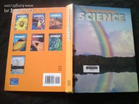 Science grade 6   英文原版精装本馆藏书0328034266 小学科学教材