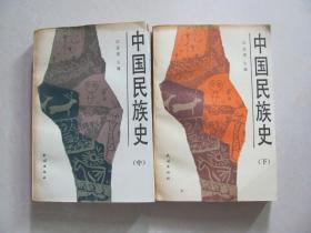 中国民族史 中 下册
