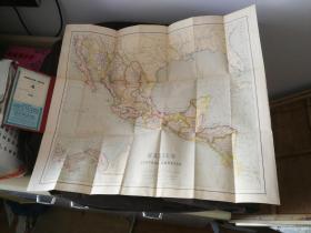 外国老版地图一个