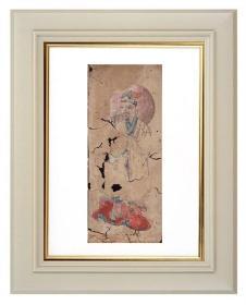 手绘《道教人物画像》移动的壁画、人物描绘栩栩如生、充满着沧桑的残缺美 7