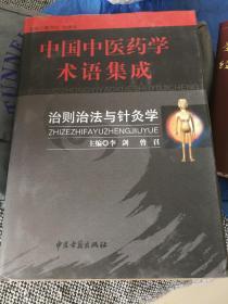 中国中医学术语集成  治则治法术语集成