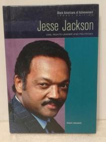 美国黑人民权运动领袖 杰西·杰克逊牧师传 Jesse Jackson:Civil Rights Leader And Politician (Black Americans of Achievement) by Anne Todd(美国黑人研究)英文原版书