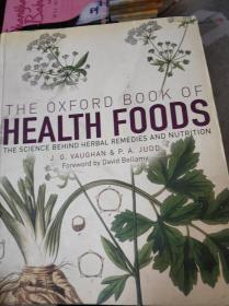 特价现货~The Oxford Book of Health Foods
