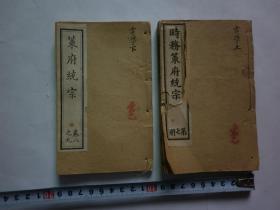 《策府统宗:电学》(两册)【注意描述】.