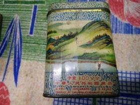 上海市茶叶公司茶叶罐