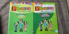 英语字母拼读法 Book 1 字母的发音+book 2母音的发音+book 3字母特殊组合 (5本合售 每本都有光盘)