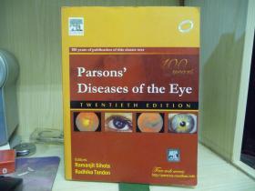 Parsons Diseases of the Eye (TWENTIETH EDITION)