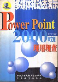 多媒体和动态演示Power Point 2000 中文版 现用现查