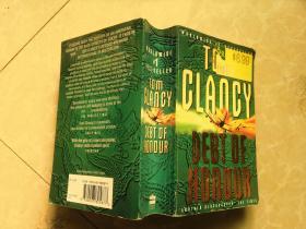 Tom Clancy DEBT OF HONOUR【外文书,书名如图】