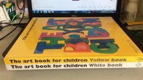 The art book for children Yellow book 、Het kunstboek voor kinderen Geel(2册合售)