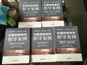 刑事审判参考1999-2008分类集成中国形式审判指导案例_危害国家安全罪、危害公共安全罪、侵犯财产罪、危害国防利益罪(全五册)