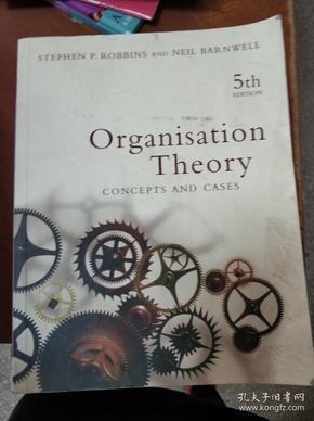 特价图书  Organisation Theory : Concept and Cases 5th