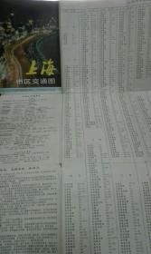 上海市区交通图(1993年)