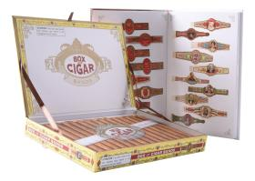 现货 Box of Cigar Bands 英文原版 雪茄品牌 雪茄品鉴 收藏