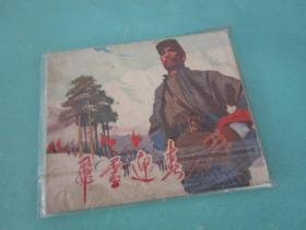 飞雪迎春/1974年9月一版一印/江西人民出版社/著名油画家陈丹青作品