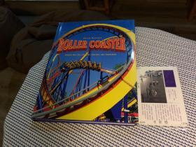 英文原版 Roller Coaster  wooden and steel coasters , twisters and corkscrews  过山车 【存于溪木素年书店】