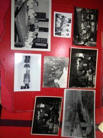 1974年【-顺德农林局送给-----中山大学教授利翠英一组8张照片】8张合拍