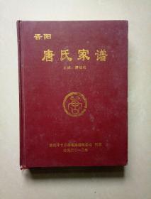 唐氏家谱 [晋阳](达州广安南充宜宾涪陵合川)