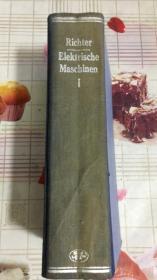 ELEKTRISCHE MASCHINEN,1【民国版外文原版旧书】