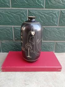 赏瓶/酒坛/酒罐(人物诗词)1个:李白醉酒