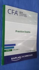 CFA2019 LEVEL VOLUME 1(英文原版)2019  CFA练习考试卷1