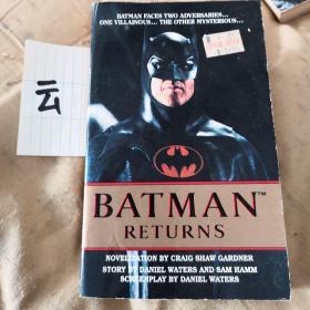 BATMAN     RETURNS    蝙蝠侠归来