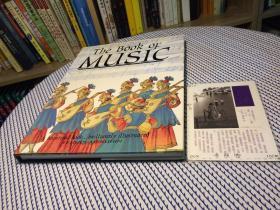英文原版 the book of music 音乐之书 【存于溪木素年书店】