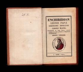 《教皇里奥三世的手册》(Enchiridion Leonis Papae) 1740年 手稿 魔法书 魔典 法本